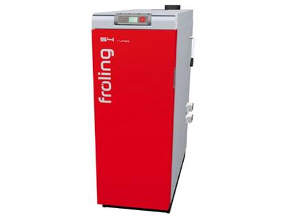 Holzvergaser und Festbrennstoffanlagen (Fröling)