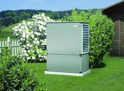 Luft/Wasser - Wärmepumpe (Brötje)